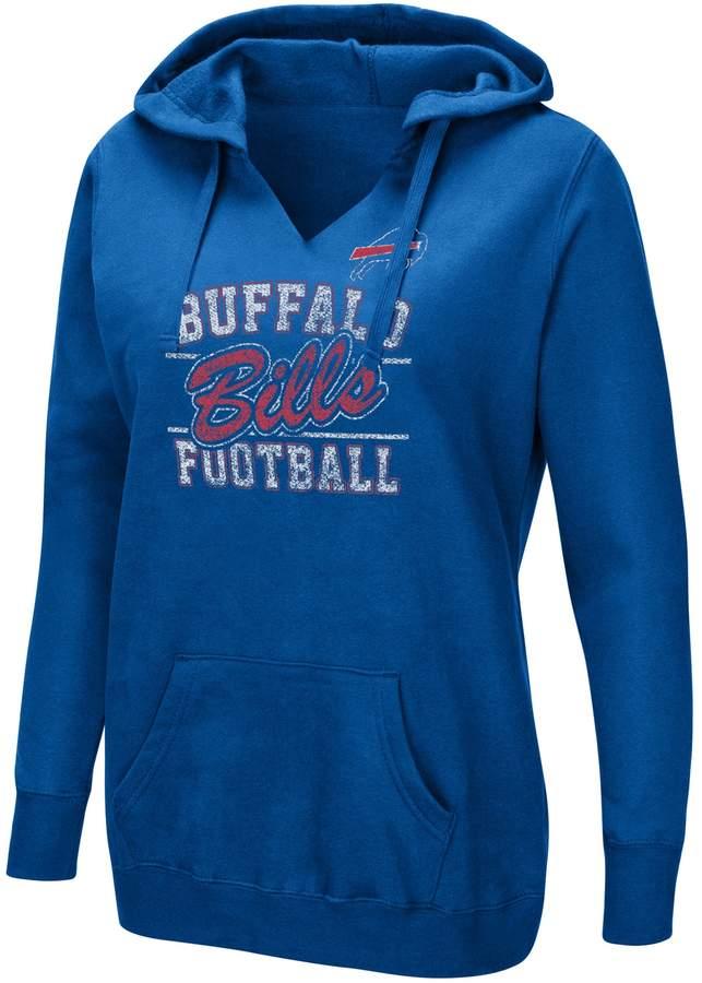 Women's Majestic Buffalo Bills Quick Out Hoodie