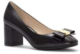 Cole Haan Tali Bow Leather Pumps
