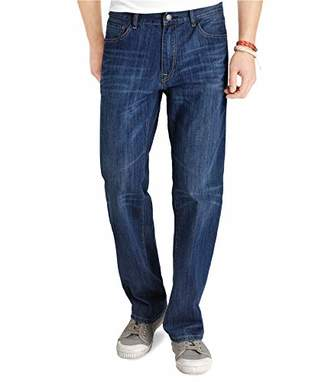 3995ce62 Izod Men's Big and Tall Classic Denim Jeans (Regular and Relaxed Fit