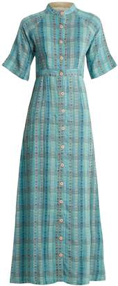 Ace&Jig Ballad button-through cotton-blend maxi dress