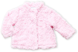 Baby Dove (Infant Girls) Pink Textured Button Coat