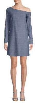 Theory Ulrika Chambray Shift Dress