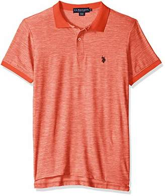 U.S. Polo Assn. Men's Space Dyed Performance Shirt