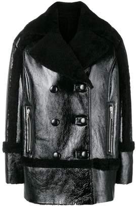 Drome shearling collar jacket