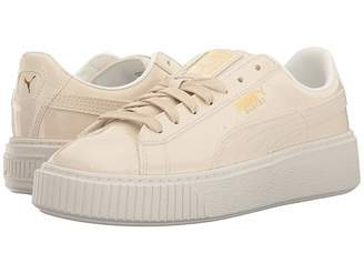 Puma Basket Platform Patent Women's Shoes