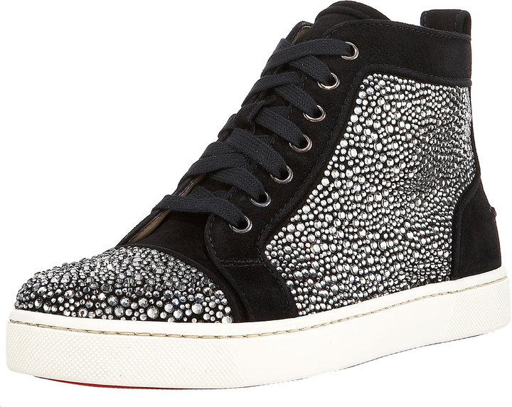 Christian Louboutin Louis Jeweled Sneaker
