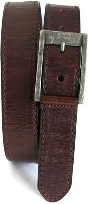 Boconi Burnished Calfskin Leather Belt