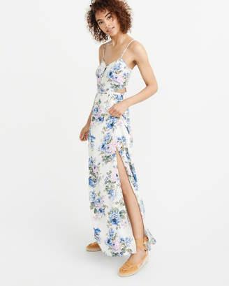 Abercrombie & Fitch Side CutoutMaxi Dress