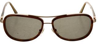 John Varvatos Tobacco Horn Sunglasses $110 thestylecure.com