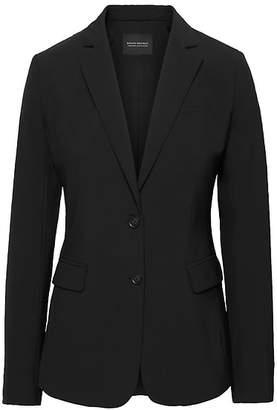 Banana Republic Long and Lean-Fit Washable Italian Wool-Blend Blazer