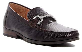 Donald J Pliner Niles-82 Lizard Embossed Leather Loafer