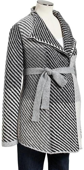 Old Navy Maternity Belted Blanket-Wrap Cardis
