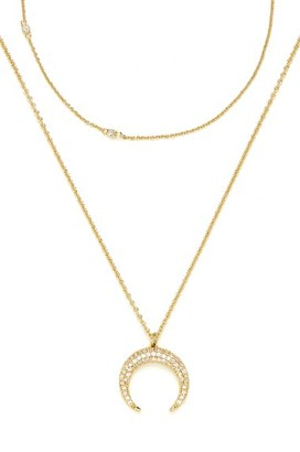 Women's Baublebar 'Semelle' Pendant Necklace & Chain (Set Of 2) $42 thestylecure.com