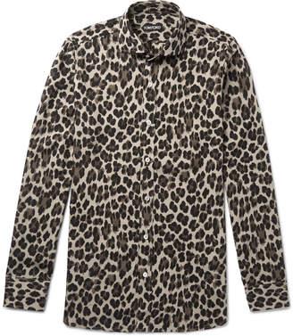 Mens Leopard Print Shirt Uk Image Hd