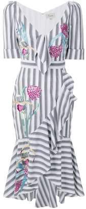 Temperley London Bella ruffle dress