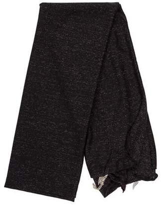 Donni Charm Metallic Knit Scarf