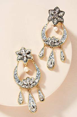 Shourouk Cara Moon Drop Earrings