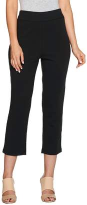 Bob Mackie Bob Mackie's Pull-On Knit Crop Pants