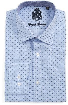 Men's English Laundry Trim Fit Geometric Dress Shirt $98.50 thestylecure.com