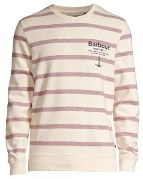 Barbour Nautical Offshore Crew Cotton Sweatshirt
