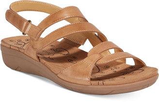Bare Traps Jerie Wedge Sandals Women's Shoes $59 thestylecure.com