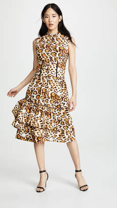 CF Goldman Corset Leopard Dress