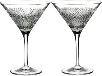 Waterford Diamond Line Martini Glass (Set of 2)
