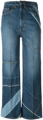 Marc By Marc Jacobs cropped panelled jeans $555.89 thestylecure.com