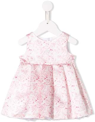 Miss Blumarine floral print flared dress