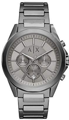 Armani Exchange Men's AX2603 Gunmetal IP Watch