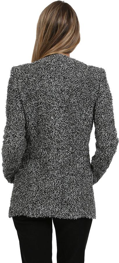 IRO Long Jacket in Grey/Black