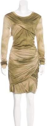 Isabel Marant Long Sleeve Silk Midi Dress w/ Tags