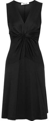 Diane von Furstenberg Baila Twist-front Jersey Dress