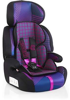 Koochi Motohero 123 Car Seat - Pink Hyperwave