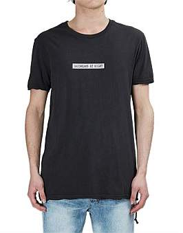 Ksubi In A Movie Ss Tee Back To Black