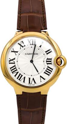Cartier Pre-Owned 46mm Ballon Bleu Leather Watch