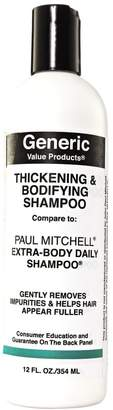 Paul Mitchell Generic Value Products Thickening & Bodifying Shampoo Compare to Extra-Body Daily Shampoo
