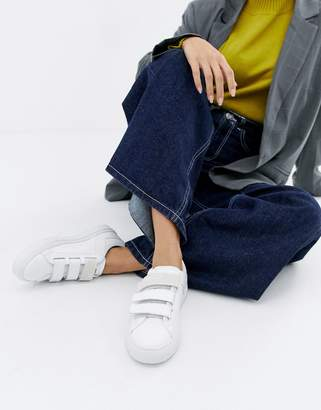 HUGO logo velcro sneakers
