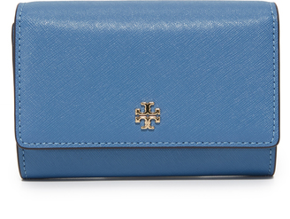 Tory Burch Robinson Medium Flap Wallet $185 thestylecure.com
