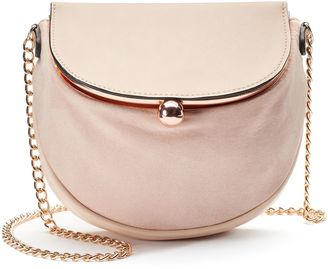 LC Lauren Conrad Lili Frame Flap Crossbody Bag $49 thestylecure.com