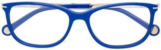 Carolina Herrera Ch rectangular-frame glasses