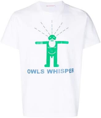 Walter Van Beirendonck Owls Whisper print T-shirt