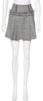 Marissa Webb Wool Plaid Skirt w/ Tags