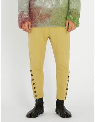 Ann Demeulemeester Oberon wool-blend trousers