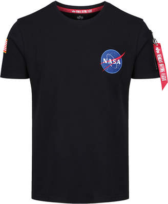 Nasa Heavy T-shirt Black