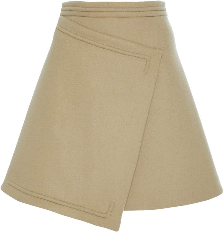 CarvenCarven Mini Wrap Skirt