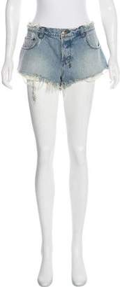 Ksubi Mini Denim Shorts