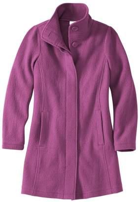 L.L. Bean Women's L.L.Bean Boiled Wool Coat