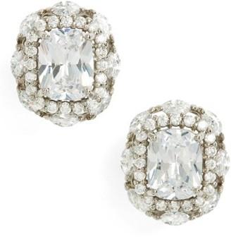 Women's Nina Estate Jewelry Cubic Zirconia Stud Earrings $95 thestylecure.com