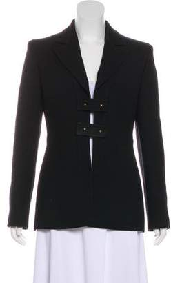 Versace Wool Short Coat